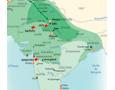 L'Inde des empereurs moghols (cartographie AFDEC)