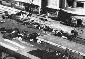 La fusillade de la rue d'Isly (Alger, 26 mars 1962)