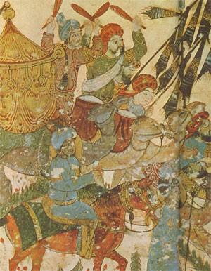 Cavaliers arabes (manuscrit arabe de la BNF)
