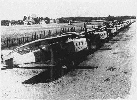 L'Aéropostale relie la France au Sénégal Avion_Montaudran1929