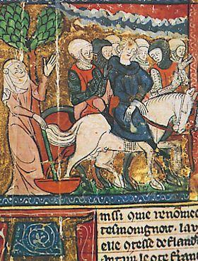 victoire de Philippe Auguste à Bouvines... Bouvines