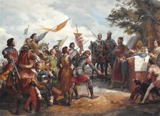 victoire de Philippe Auguste à Bouvines... Bouvines2