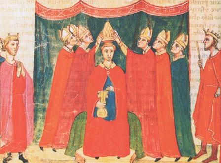Pape Clement V couronnement