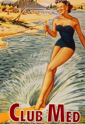 Le Club Méditerranée (publicité des années 1950)