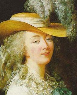 La comtesse du Barry (portrait par Mme Vigée-Lebrun)