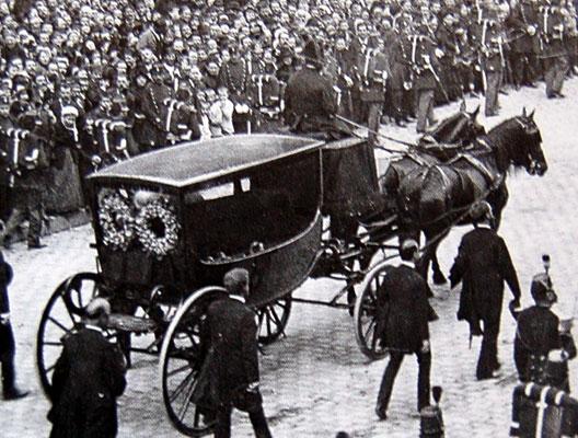 Les funérailles de Victor Hugo (1er juin 1885)