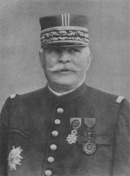 Le maréchal Joseph Joffre (Rivesaltes 1852 - Paris, 1931)