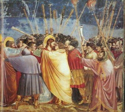 judas et la gnose. JudasbaiserGiotto