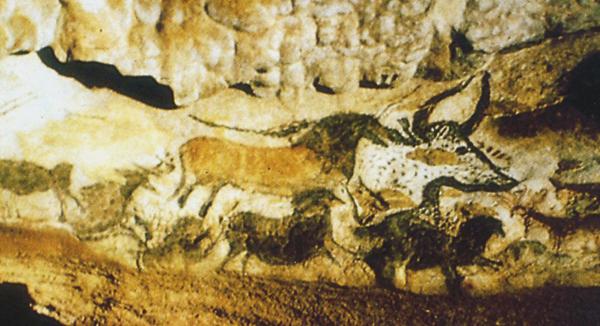 Lascaux, la Rotonde des taureaux (photo du ministère français de la culture, DR)