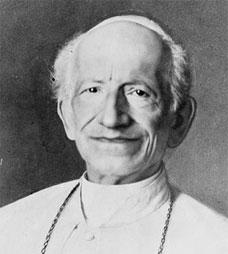 Léon XIII (2 mars 1810- 20 juillet 1903)