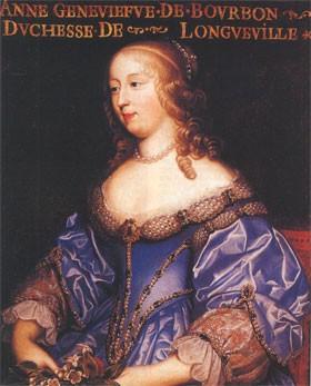 Anne-Geneviève de Bourbon, duchesse de Longueville (Vincennes, 28 août 1619 - Paris, 15 avril 1679)