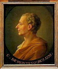 Charles-Louis Secondat, baron de Montesquieu (1689-1755)