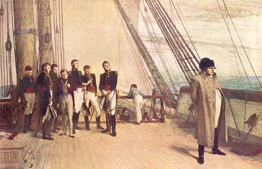 Fin du 1er Empire :  Le trésor perdu de Napoléon Ier Napoleon_Northumberland