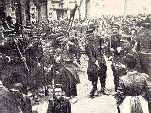 Les soldats du 17e à Béziers