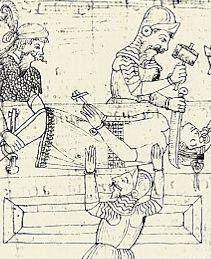 Mort de l'Inca Atahualpa, le 29 août 1533