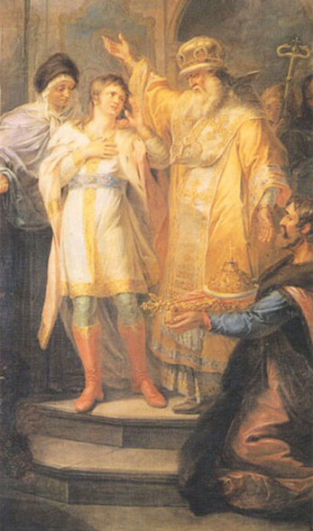 Michel Romanov (16 ans) élu tsar de Russie