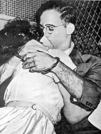 Julius et Ethel Rosenberg avant leur exécution