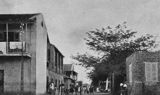 La ville de Rufisque en 1912