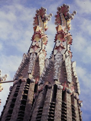 La Sagrada Familia à Barcelone (photo : P Grégor)