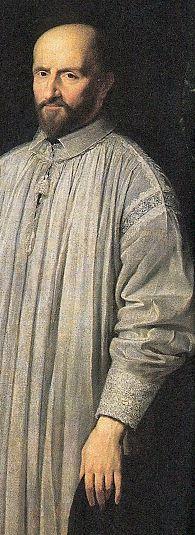 Jean Duvergier de Hauranne, abbé de Saint-Cyran, par Philippe de Champaigne