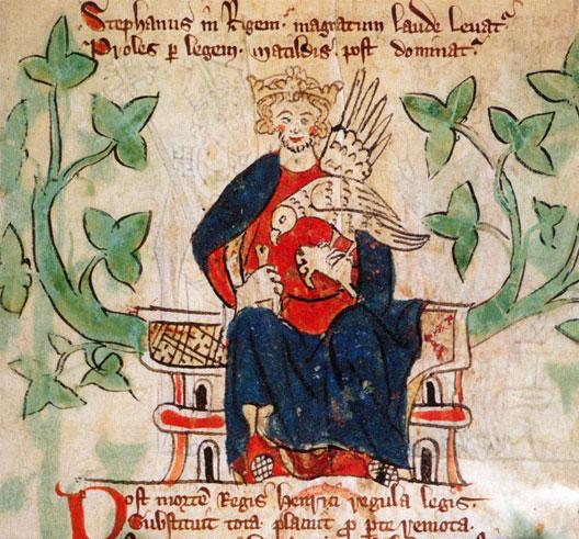 Étienne de Blois (1096-1154), roi d'Angleterre