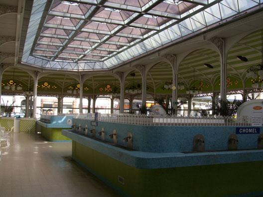 Les sources d'eau thermale à Vichy