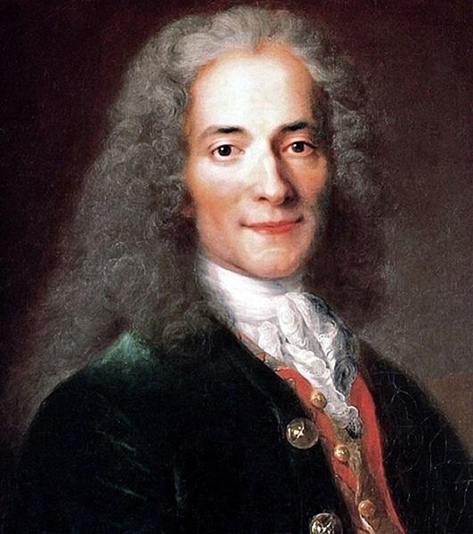 Voltaire en 1735, au summum de sa gloire par Maurice Quentin de la Tour
