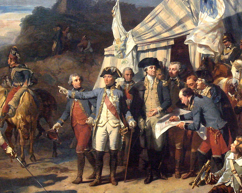 La reddition de lord Cornwallis à Yorktown (17 octobre 1781)