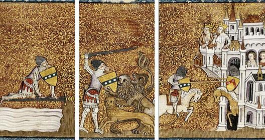 Lancelot graal prouesse supr me de lancelot et marges - La table ronde du roi arthur ...