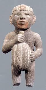 Noble aztèque avec cabosse