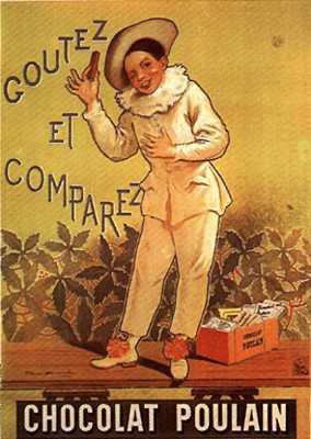 Publicité du chocolat Poulain