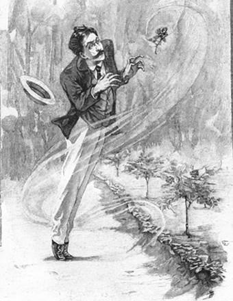 Julian-Damazy, illustrations pour Le Horla, Œuvres complètes illustrées de Guy de Maupassant, édition Ollendorff, 1903