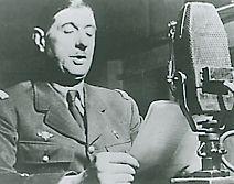 De Gaulle à la radio de Londres