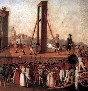 28 novembre 1789:Les Français découvrent la guillotine Guillotine