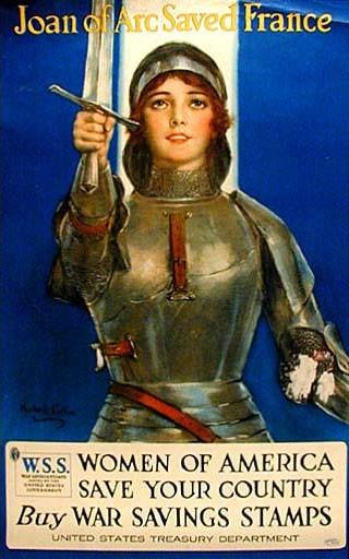 Affiche américaine pour la souscription aux emprunts de guerre (1914-1918)