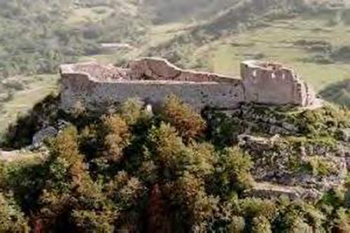 La citadelle de Montségur aujourd'hui