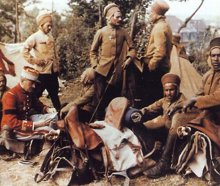 Les soldats oubliés de la Seconde Guerre Mondiale spahis