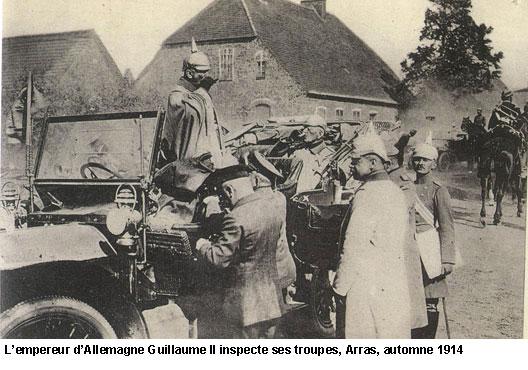 EN BREF :  1914-1918 - La Grande Guerre ou Première Guerre mondiale par André Larané 1418guillaume2