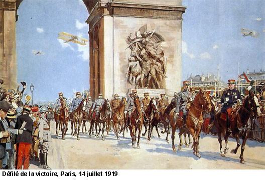 EN BREF :  1914-1918 - La Grande Guerre ou Première Guerre mondiale par André Larané 1418victoire