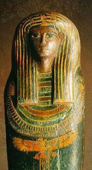 Sarcophage égyptien du musée Crozatier (Le Puy)