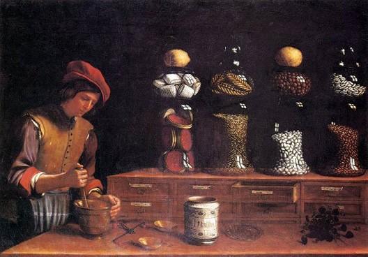 Paolo Barbieri, La Boutique d'épices, 1637, Pinacoteca Comunale, Spoleto