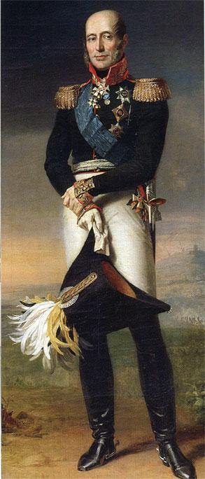 Le prince Mikhaïl Barclay de Tolly (George Dawe, 1829, musée de l'Ermitage, Saint-Pétersbourg)
