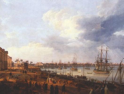 Bordeaux la plus belle ville du royaume - Vue du port de bordeaux joseph vernet ...