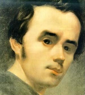 Taras Chevtchenko, autoportrait (9 mars 1814 - 10 mars 1861)