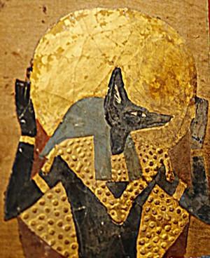 Anubis, Le Caire, Musée national. (photo : Gérard Grégor)
