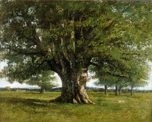 Gustave Courbet, Le chêne de Flagey, 1864 (musée d'Ornans)