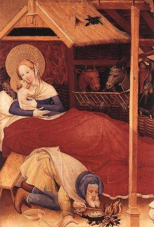 Conrad von Soest, Nativité, 1403, Bad Wildungen