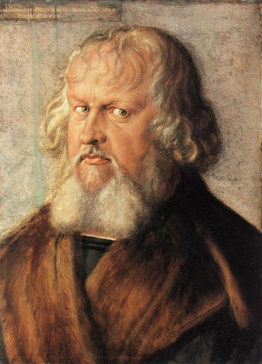 Albrecht Dürer (1471-1528), portrait de Hieronymus Holzschuher (Gemäldegalerie, Berlin)