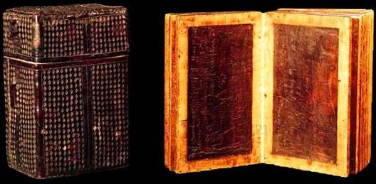 Comptes sur tablettes de cire, Allemagne, début du XVIIe siècle, BnF, Paris.
