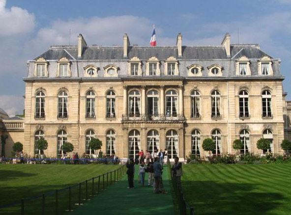 Le palais de l'Élysée (Paris), DR